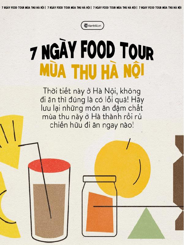 """Tham Khảo Ngay Cẩm Nang 7 Ngày """"Ăn Sập Hà Nội"""""""