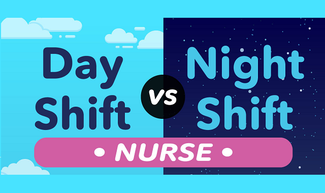 Night and Day shift routines of nurses in hospitals