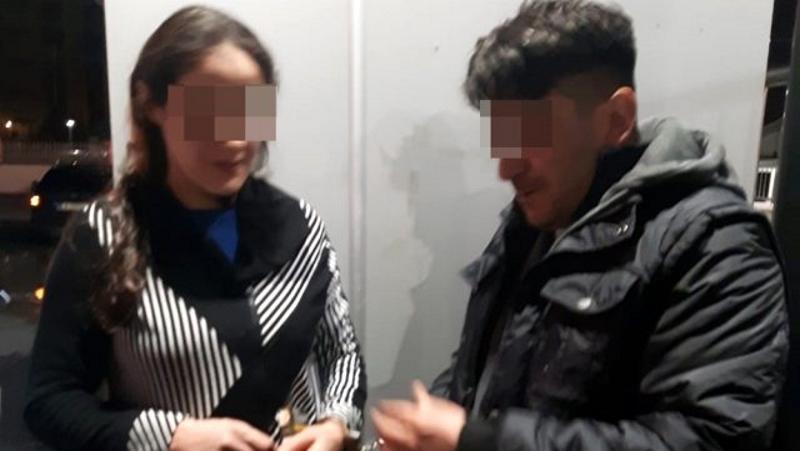 Tam bir suç makinesi firari kadın yakalandı