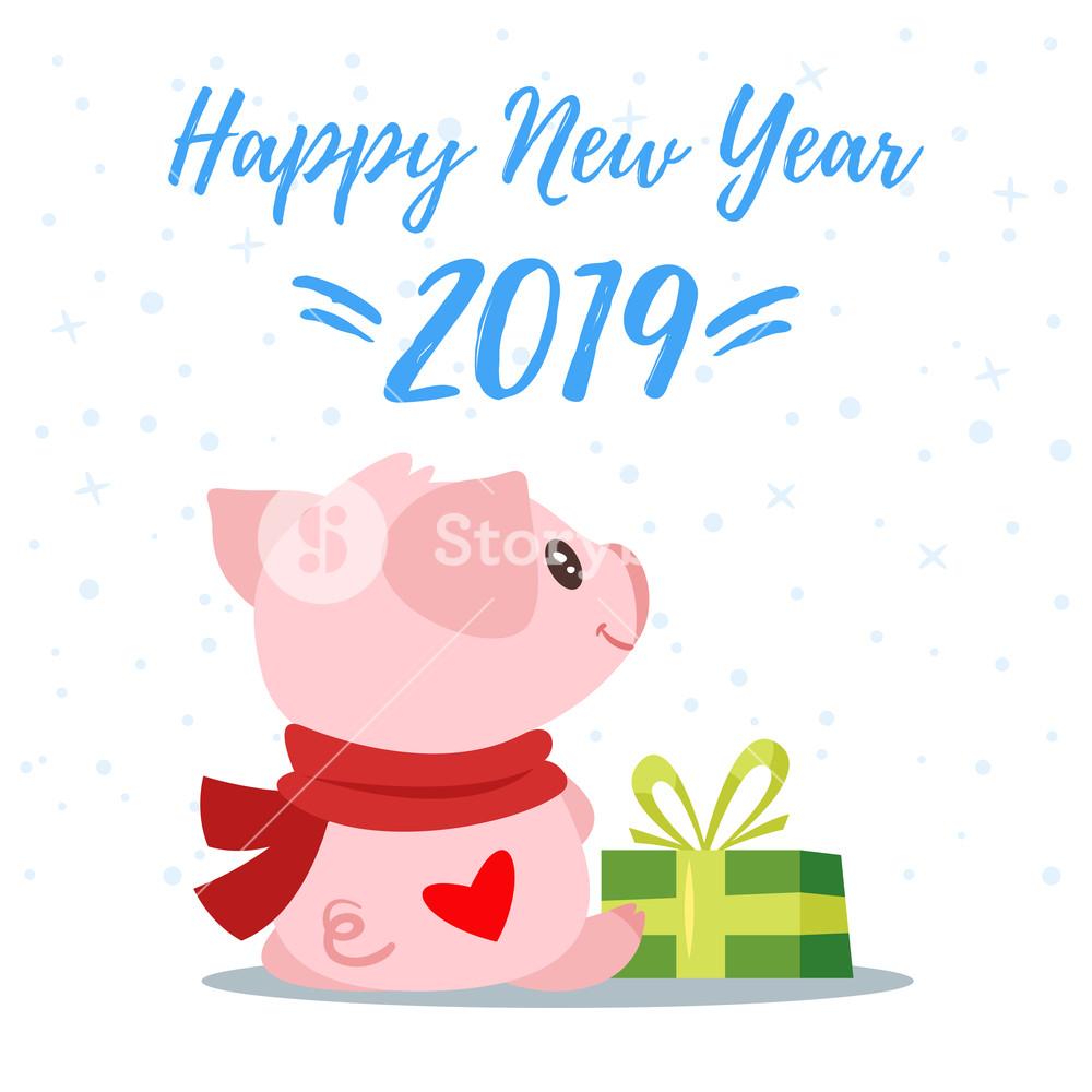 năm mới 2019 happy new year vạn sự tốt lành - năm kỷ hợi yên vui