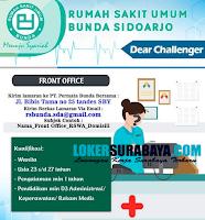 Loker Surabaya di Rumah Sakit Umum Bunda Sidoarjo November 2020