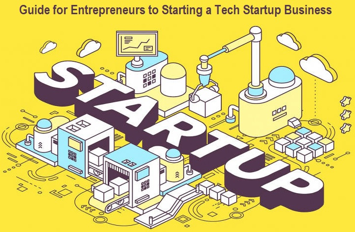 Guide for Entrepreneurs to Starting a Tech Startup Business