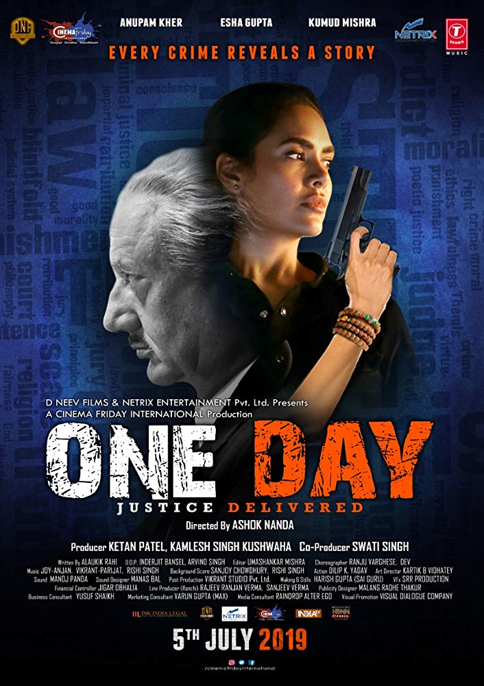 One Day Justice Delivered 2019 Hindi Movie 350MB HDTVRip Download
