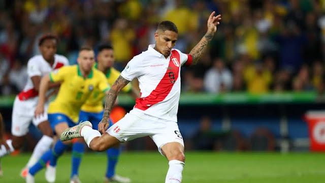 Peru First goal brazil vs peru