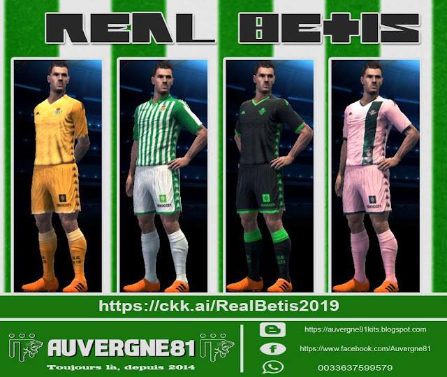 Ultigamerz Pes 2013 Real Betis 2019 20 Gdb Kits