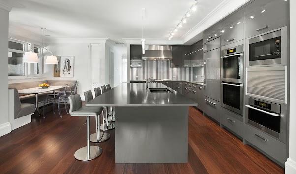 Desain Dapur Modern Mewah dan Elegant 06