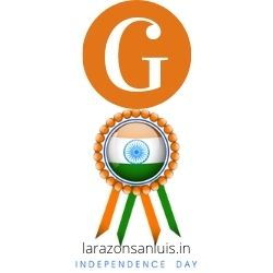 g letter tiranga image