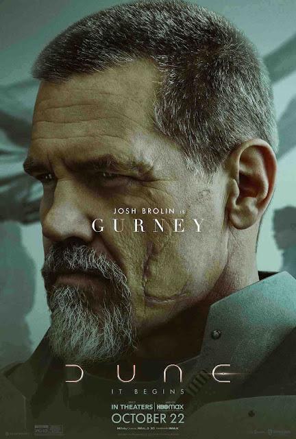 Josh Brolin as Gurney Halleck