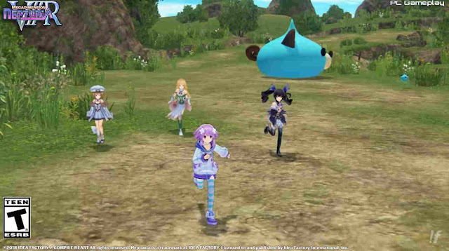 Trailer Game RPG Super Neptunia