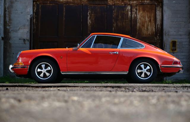 Porsche 911 1960s German classic sports car