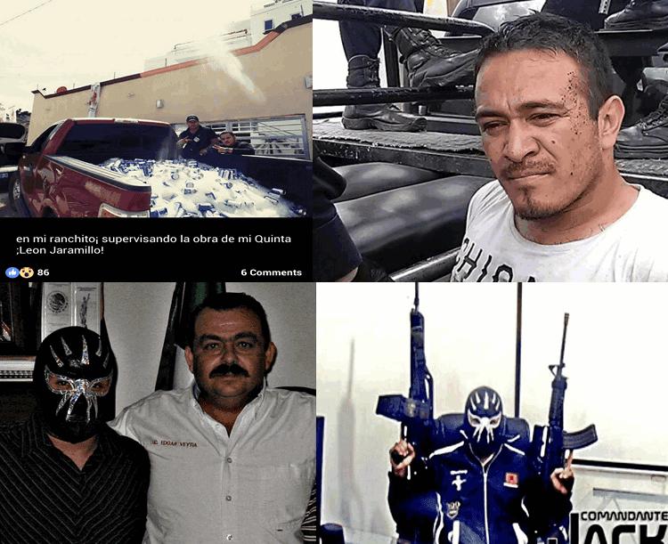 """FOTOGALERIA: """"EL COMANDANTE JACK"""" SEMBRÓ EL TERROR A LA SOMBRA DEL NARCOFISCAL VEYTIA"""
