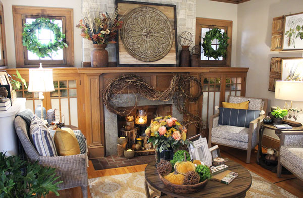 The Bachman's 2019 Fall Ideas House Tour From Itsy Bits And Pieces Blog