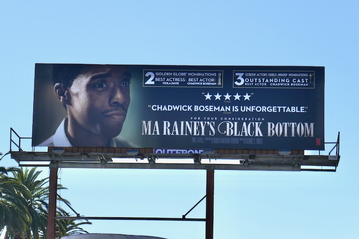 Chadwick Boseman Ma Raineys Black Bottom nominee billboard