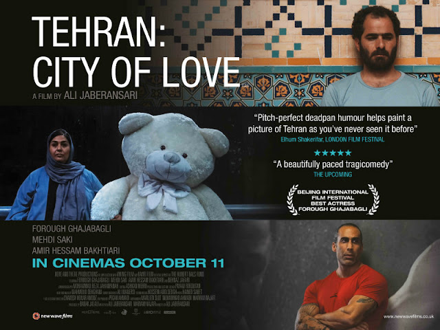 tehran city of love poster