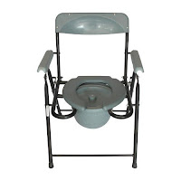 Karma Commode Folding Chair Ryder 210 Ms Fc