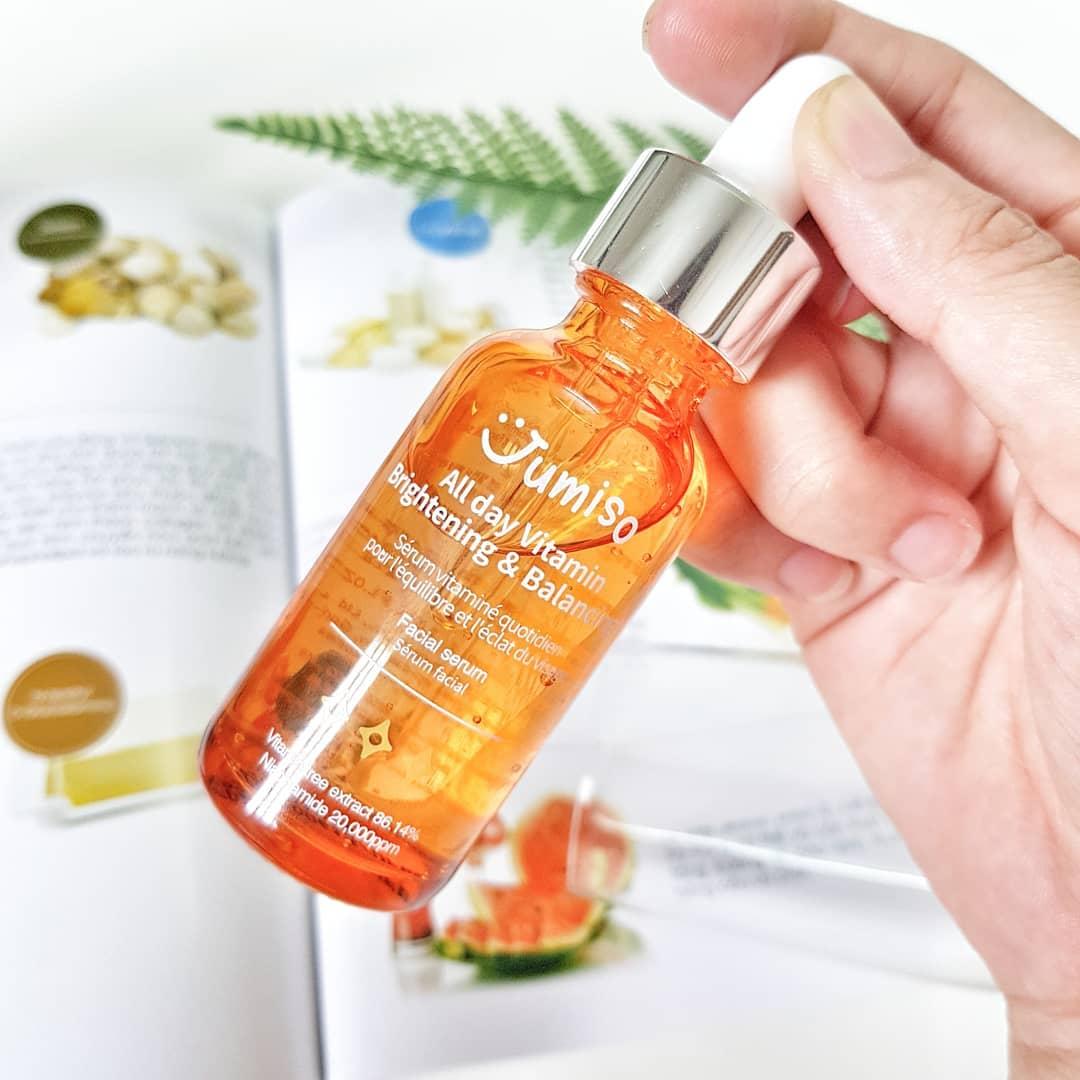 Góc Review Serum Jumiso All Day Vitamin Brightening & Balancing Facial Serum: Hiệu quả nhất với thanh xuân!