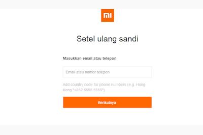 2 Cara Mengatasi Lupa Password Mi Akun Xiaomi 100% Work 2017