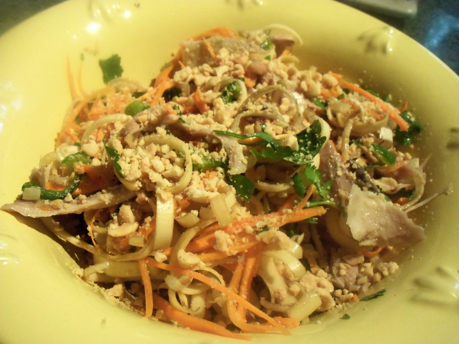 Le Canard Du Mekong Salade De Fleur De Bananier Au Poulet