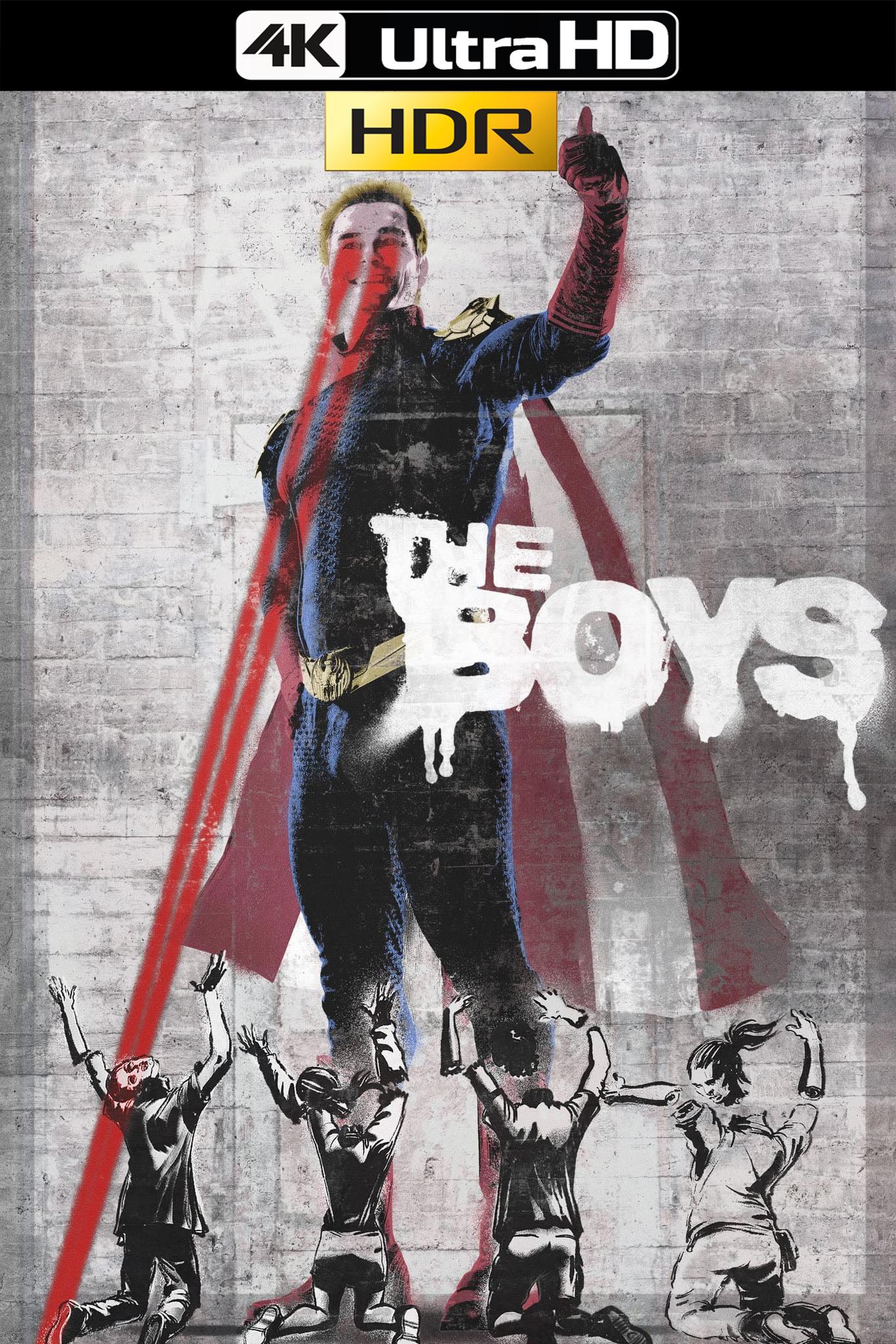 The Boys (2019) Temporada 1 AMZN 4k HDR WEB-DL Latino