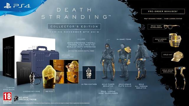 رسميا لعبة Death Stranding تحصل على تاريخ لإصدارها و فيديو يكشف أسرار عالمها