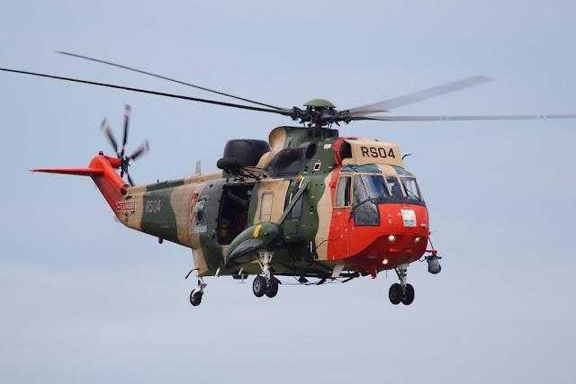 Belgium retires Sea King helicopter