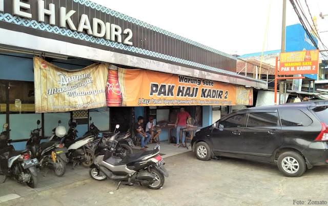 Warung Sate Legendaris Di Kawasan Puncak Bogor