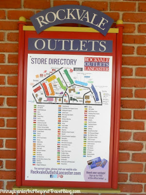 Shopping at the Rockvale Outlets in Lancaster