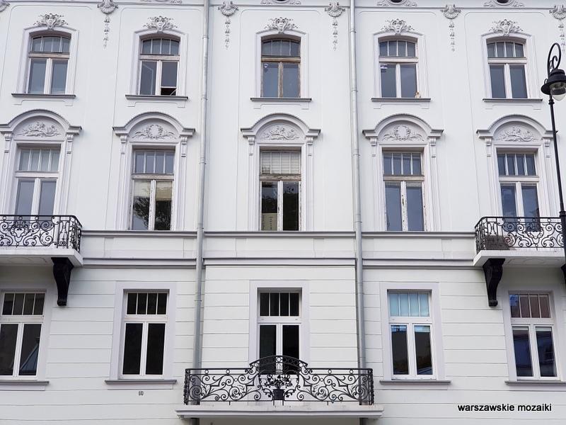 Warszawa Warsaw kamienica architektura architecture zabytek przedwojenna kamienica Śródmieście