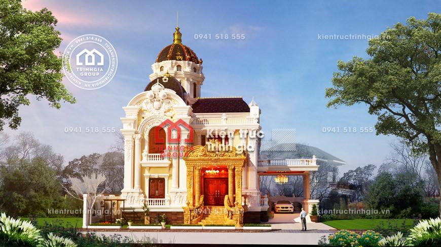 Biệt thự lâu đài phong cách kiến trúc Pháp cổ điển bậc nhất! - Mã số LD3210