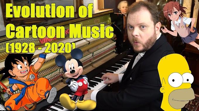 Casi 100 años de evolución en la música de dibujos animados ¿Los conoces todos?
