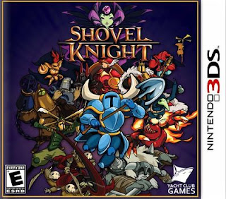 Shovel Knight, 3DS, Español, Mega, Mediafire, eShop