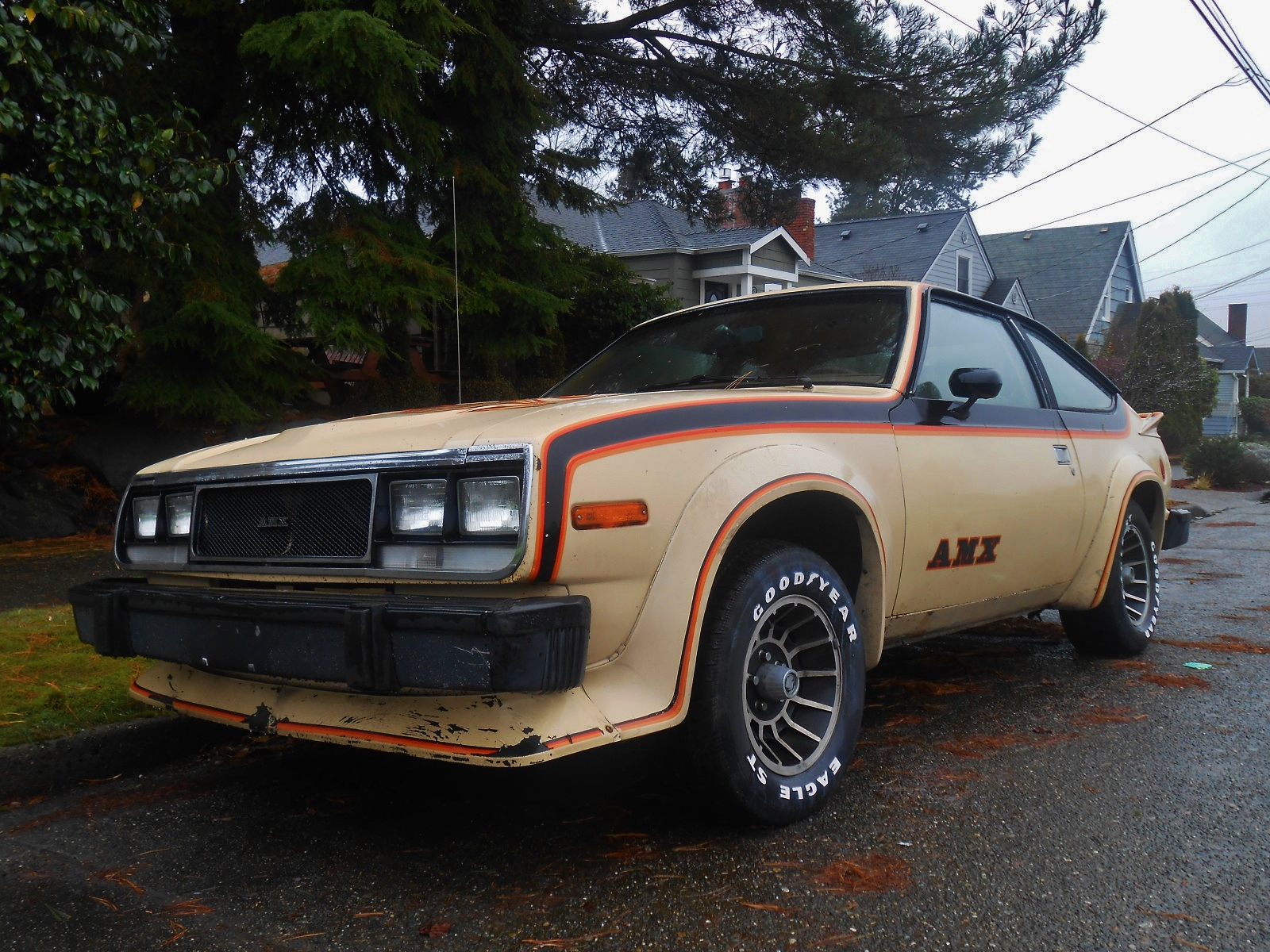 Seattle's Parked Cars: 1979 AMC Spirit AMX