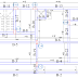 Size of beams, slab load distribution and beam layout plan