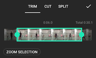 how to crop a video in inshot app