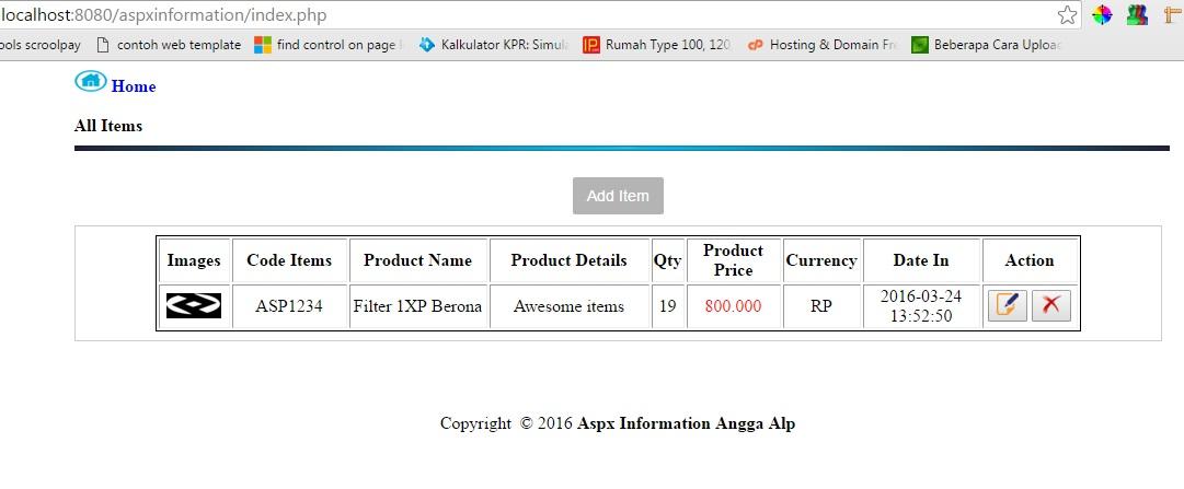 Tutorial Membuat CRUD dengan PHP dan MySQL [Create/Insert