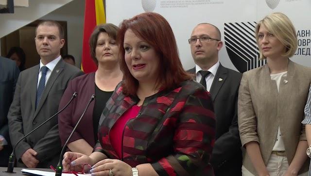 Ein Tag vor Ablauf des Mandats: SJO klagt Personen der VMRO-DPMNE an