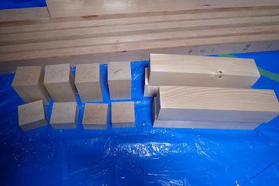 卓球台の脚になる材料