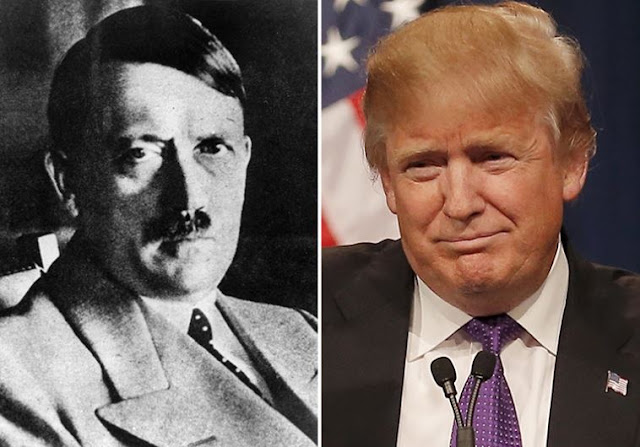 Adolf Hitler y Donald Trump