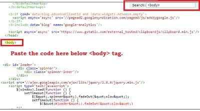 Notification Bar Widget For Blogge