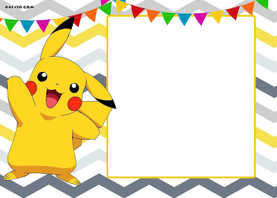Pikachu birthday cards