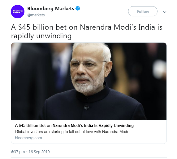 India's Nifty 50 Index Under Bearish Death Cross