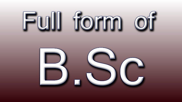 What is the full form of BSC?