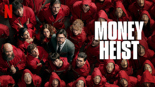 Serial Netflix Money Heist
