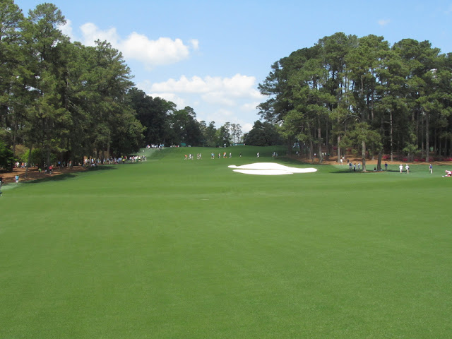 The first hole at Augusta National is named Tea Olive