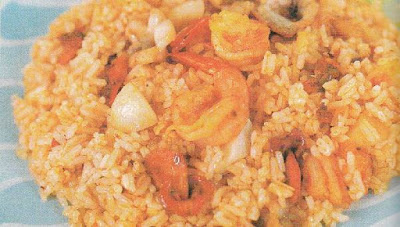Nasi Goreng Seafood yang enak dan spesial