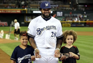 Prince Fielder And Sons Pic