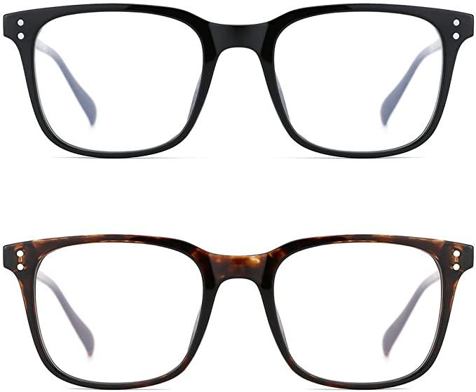 50% off Classic Oversized Design Full Rimmed Blue Light Blocking Eyeglasses