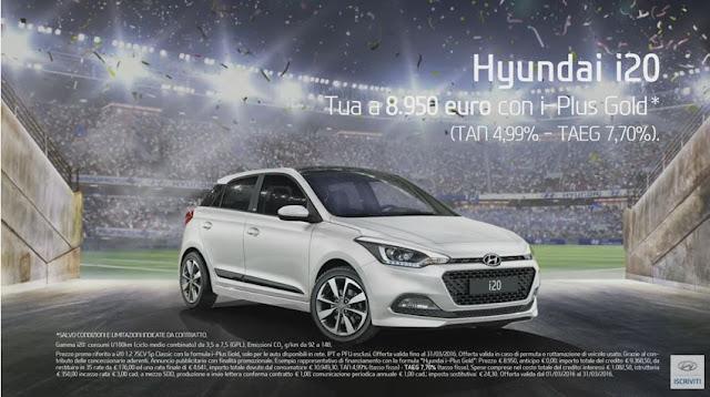 Canzone Pubblicità Hyundai i20 GO! 2016