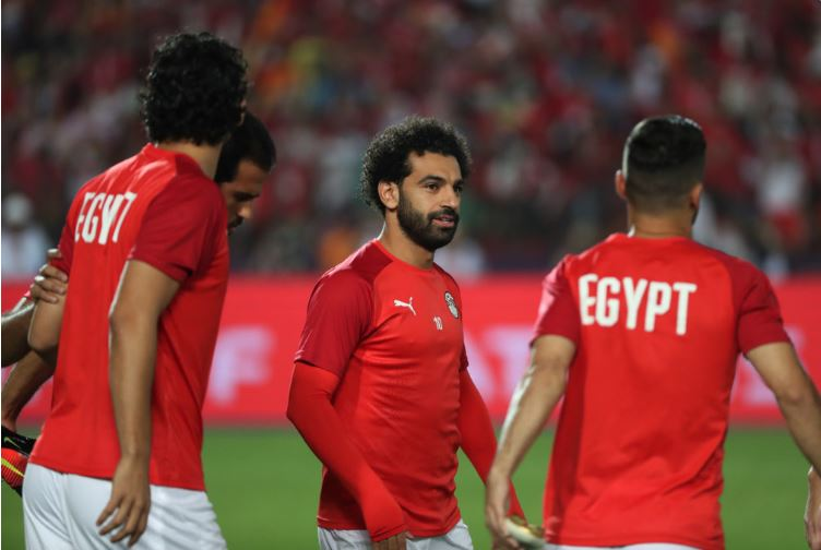 Egypt and Liverpool forward Mohamed Salah