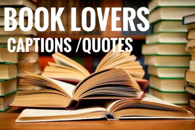 books captions